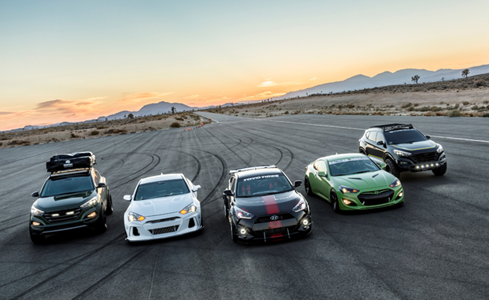 Hyundai Brings Six Wicked Rides to Las Vegas