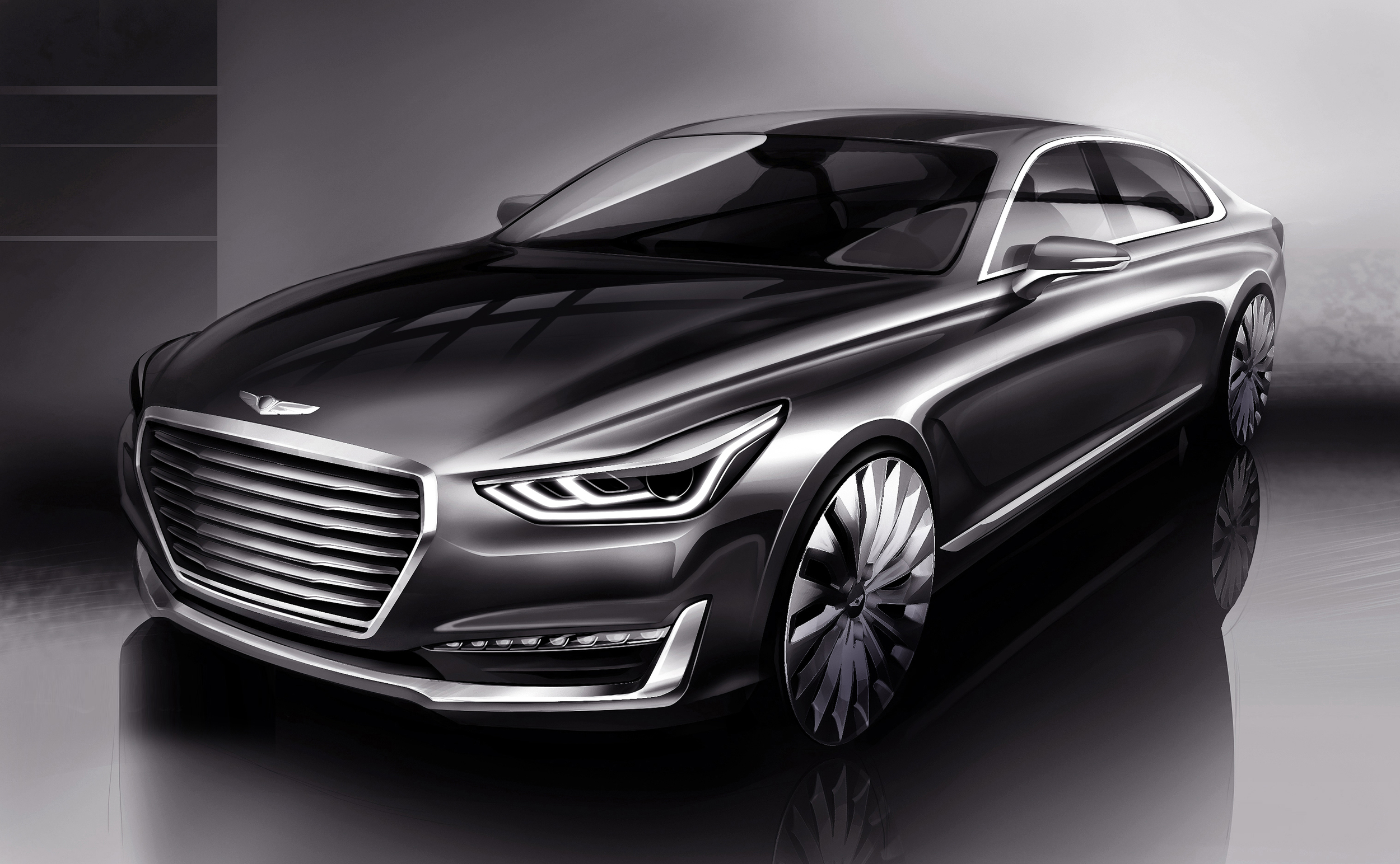 The Genesis G90 Is The Next Hyundai Equus