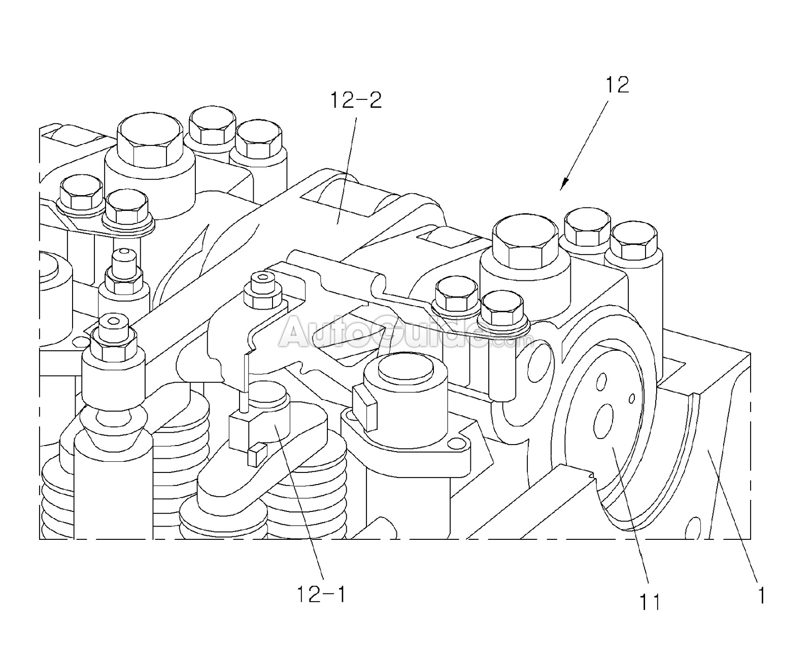 Hyundai Turns To Outdated Technology For New Three Cylinder Engine Diagram Intake Area Patent 4