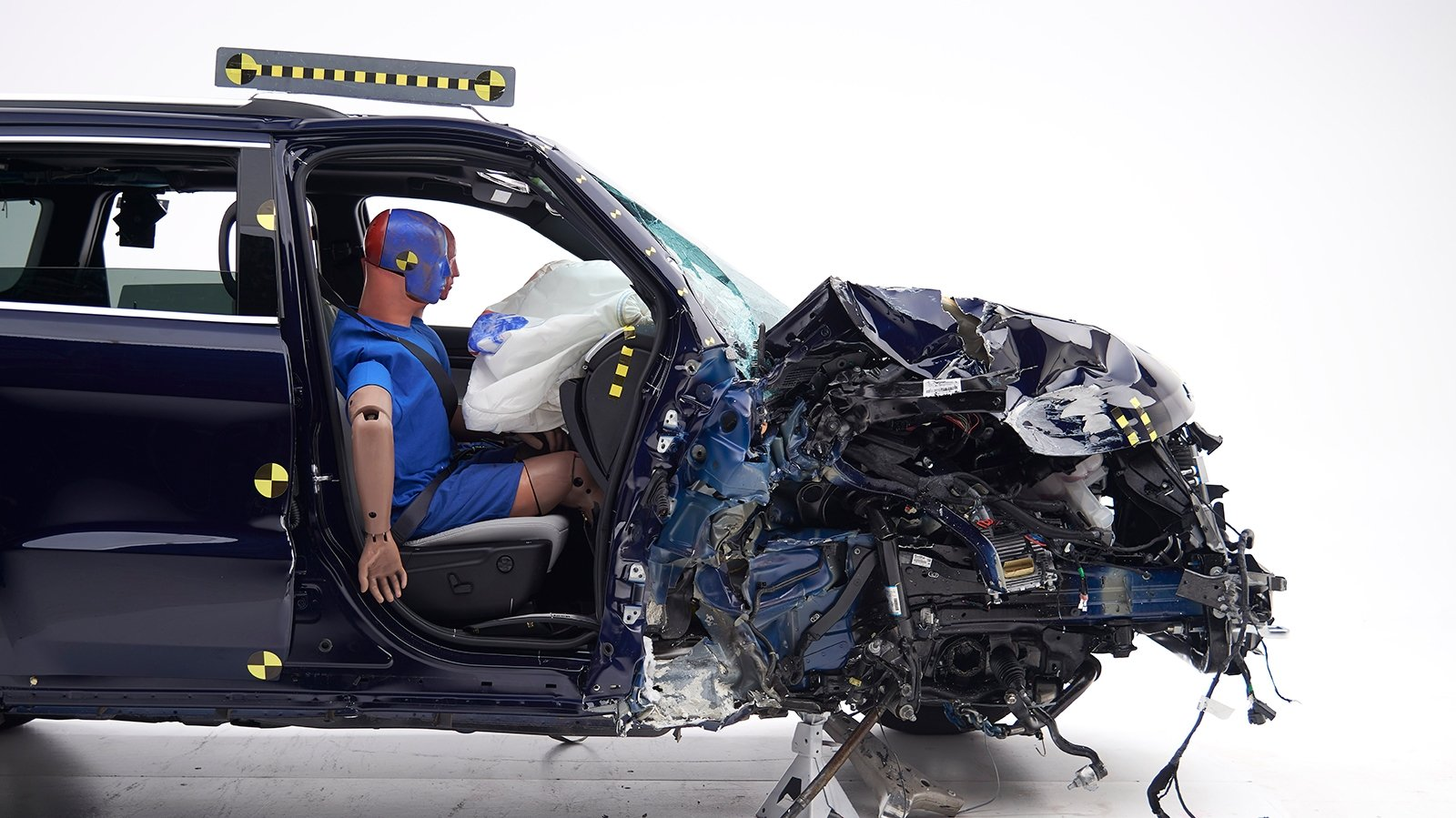 Popular Midsize SUVs Disappoint in New IIHS Passenger-Side ...