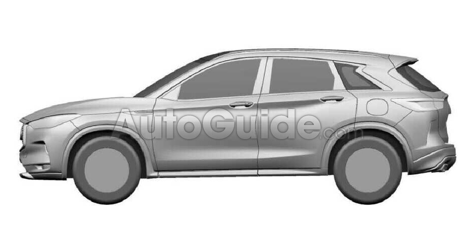 2018 infiniti qx50. interesting 2018 infinitiqx50designpatent04 with 2018 infiniti qx50