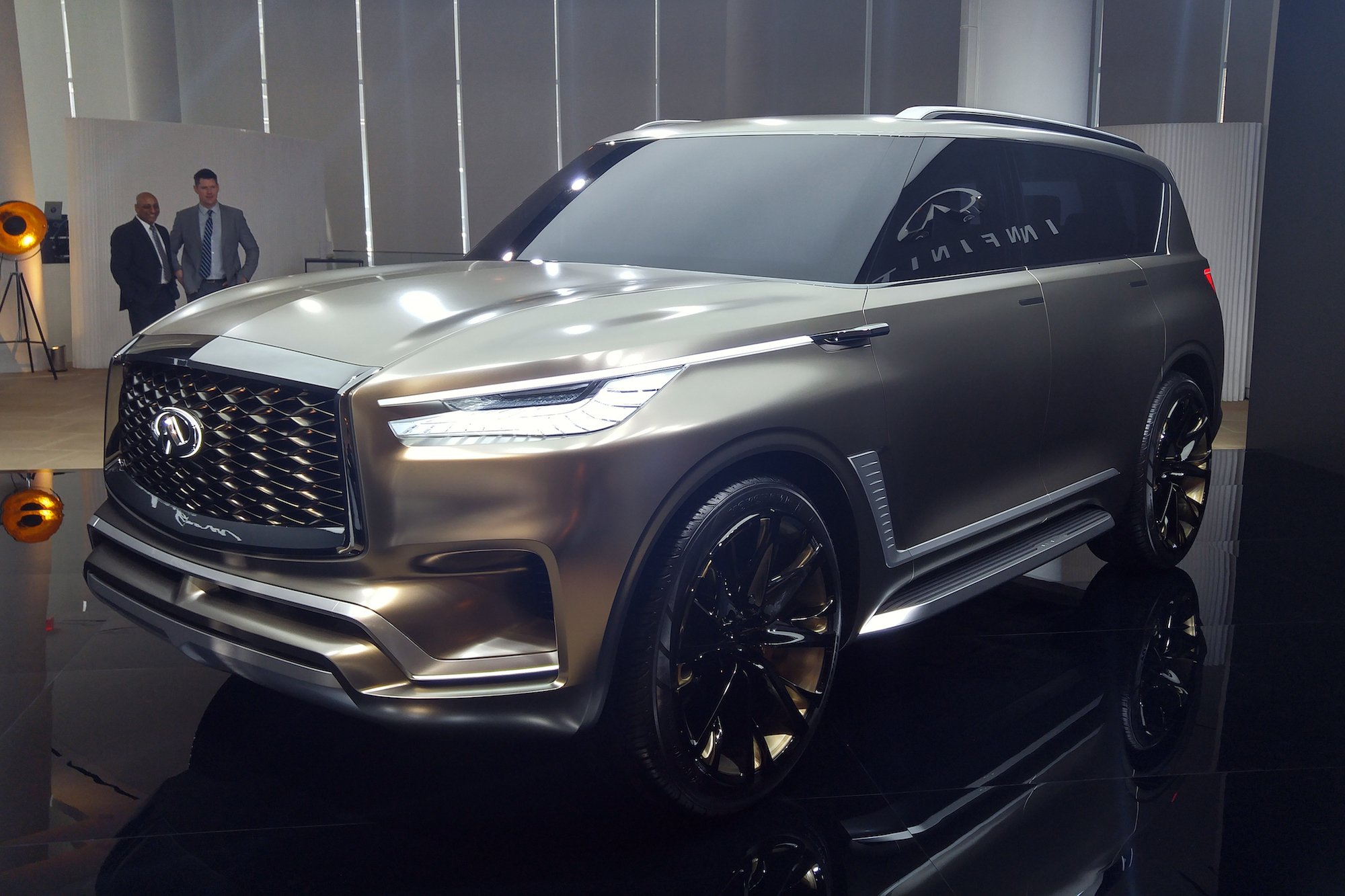 The Infiniti Qx80 Monograph Is A Private Jet For The Road