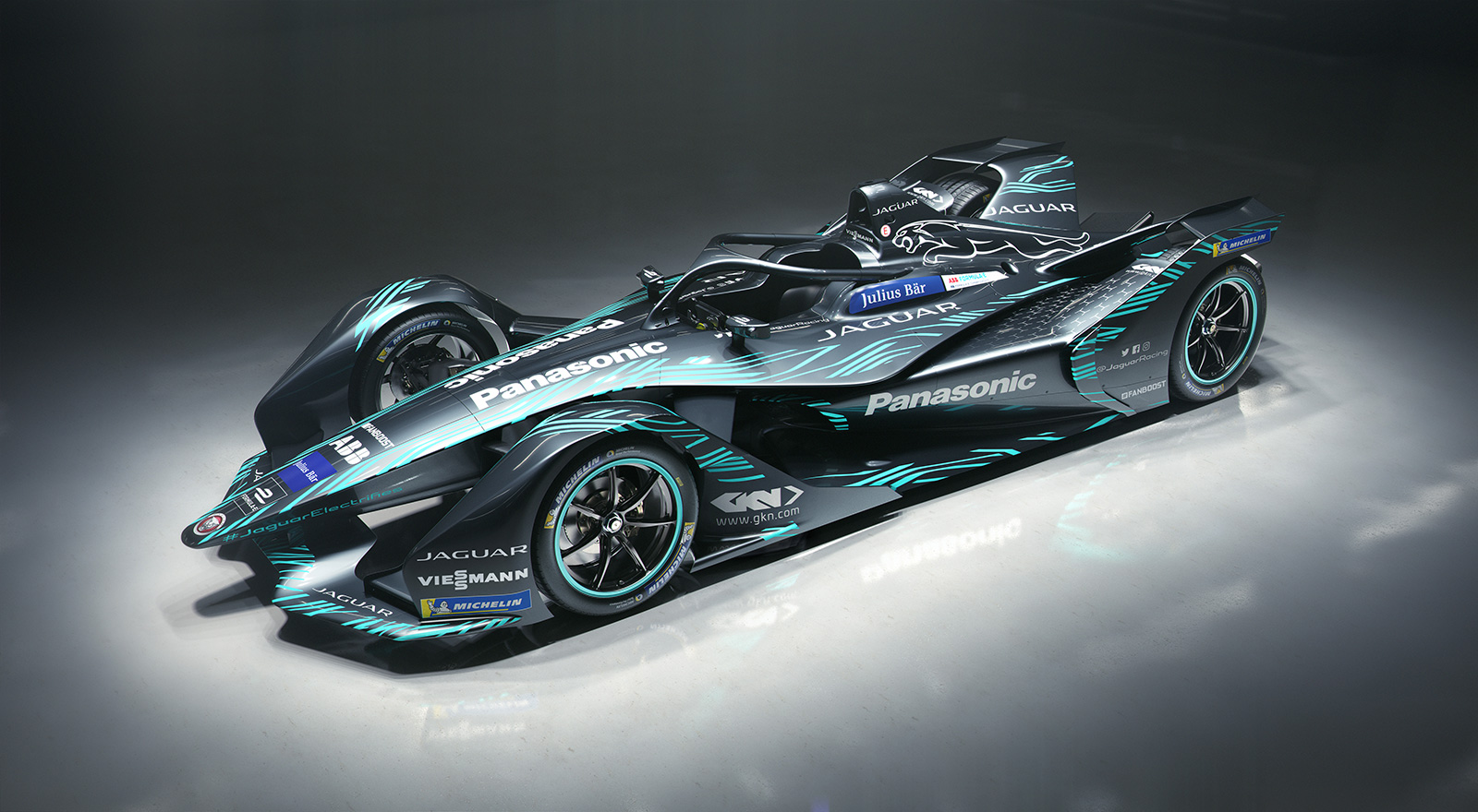 Jaguar I  Type 3 Formula E Race Car ...