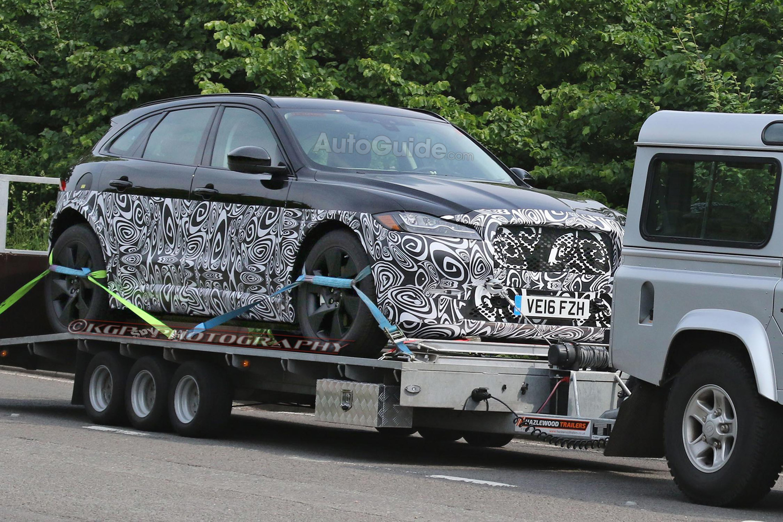 Is Jaguar S Upcoming Full Size J Pace Suv A Diesel Hybrid