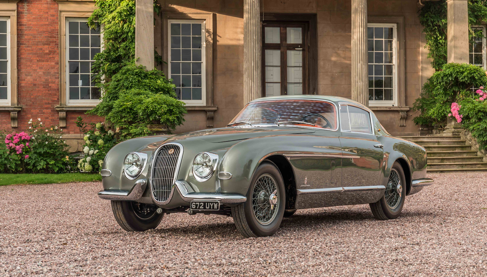One-off Jaguar XK120 unveiled at Pebble Beach after 6500-hour restoration