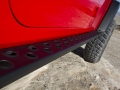 Jeep Performance Part rock rail on the Mopar's Red Rock Responder concept vehicle shown at the 2015 Easter Jeep Safari in Moab, Utah