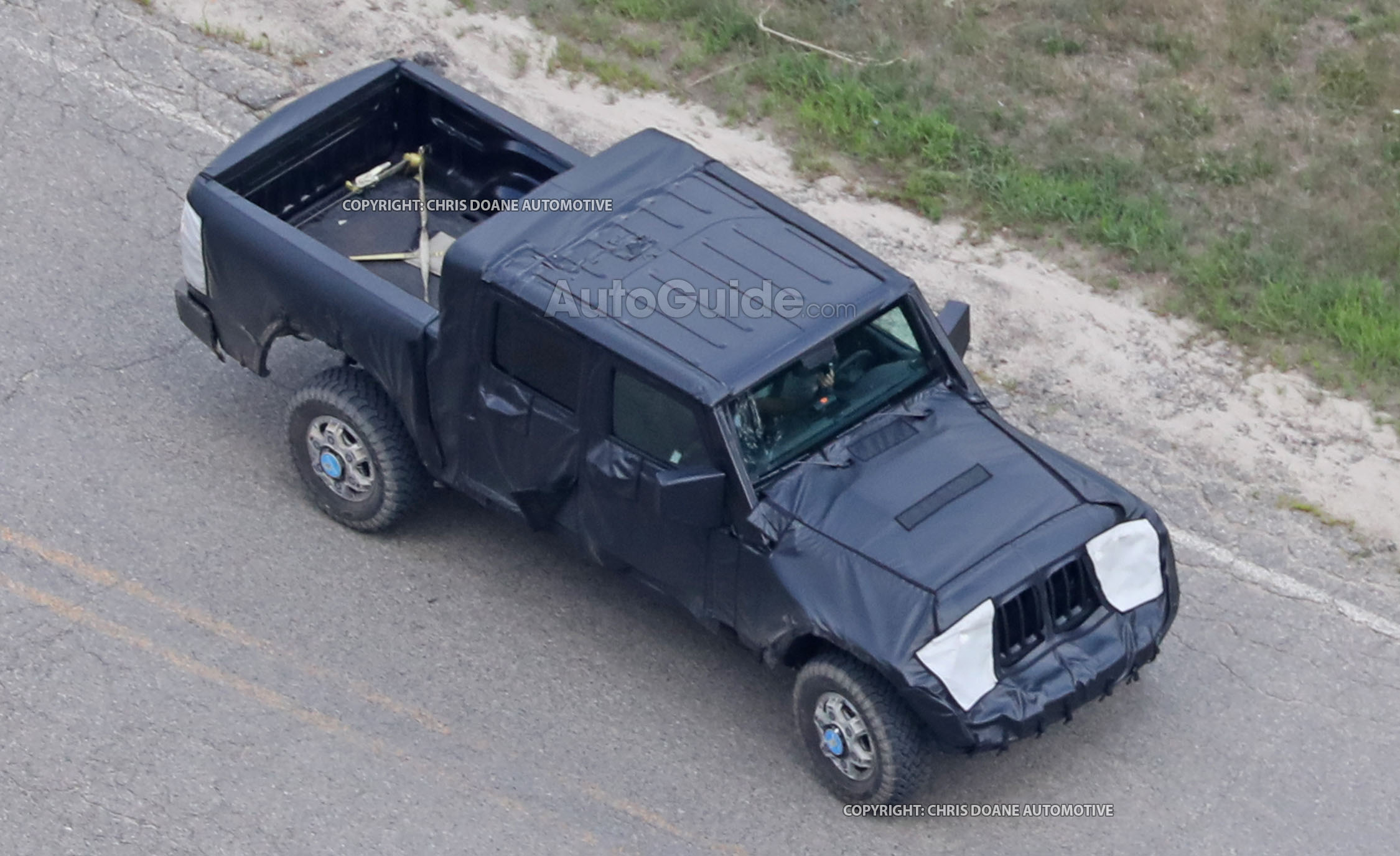 Jeep Wrangler Pickup Spotted Testing for the First Time AutoGuide