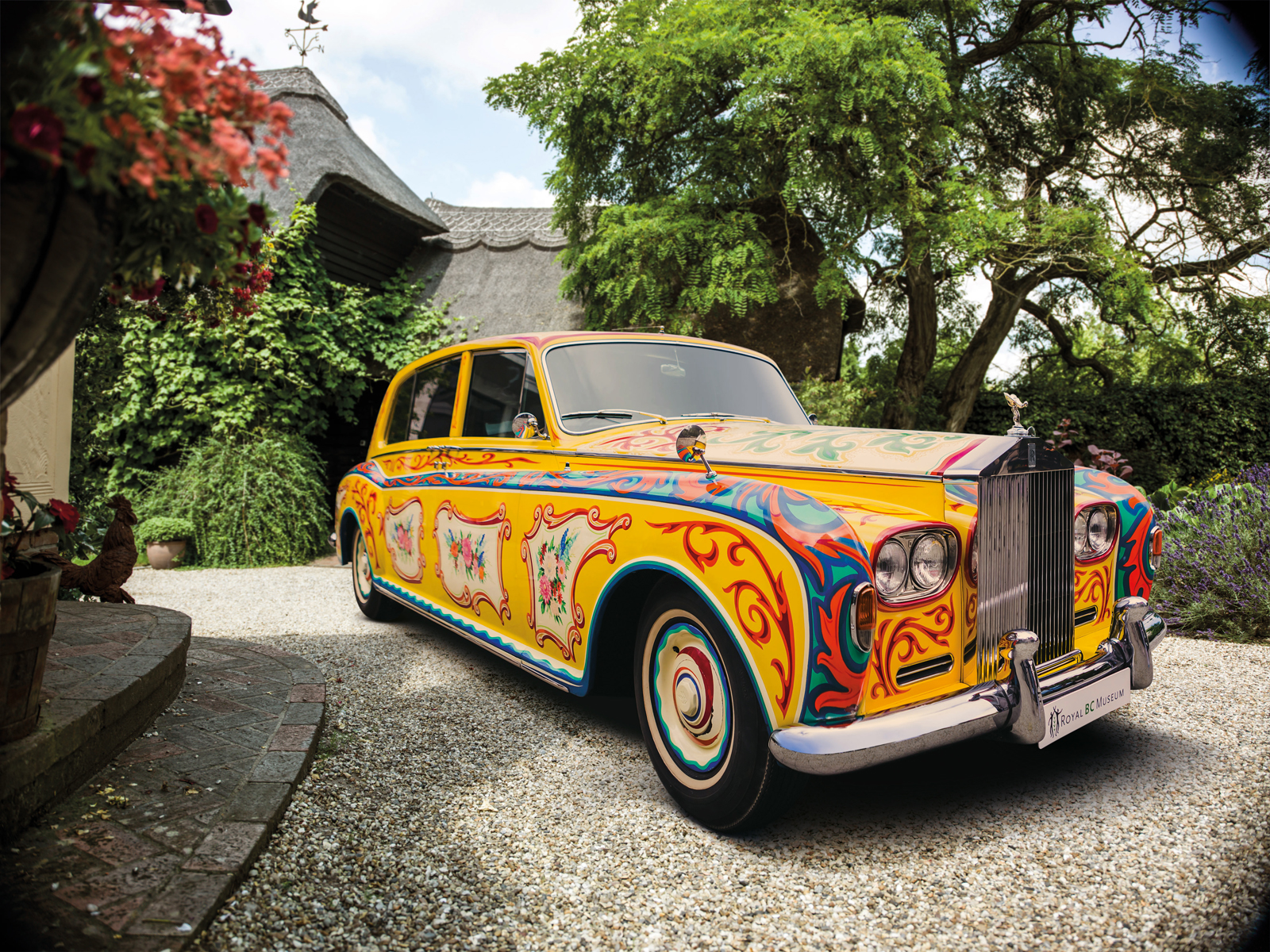 John Lennon's Trippy Rolls-Royce is Coming to London » AutoGuide.com News