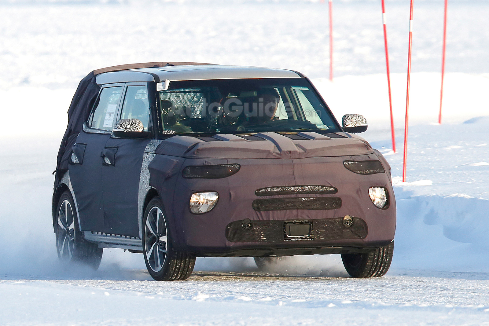 ... Kia Soul Spy Photos 03 ...