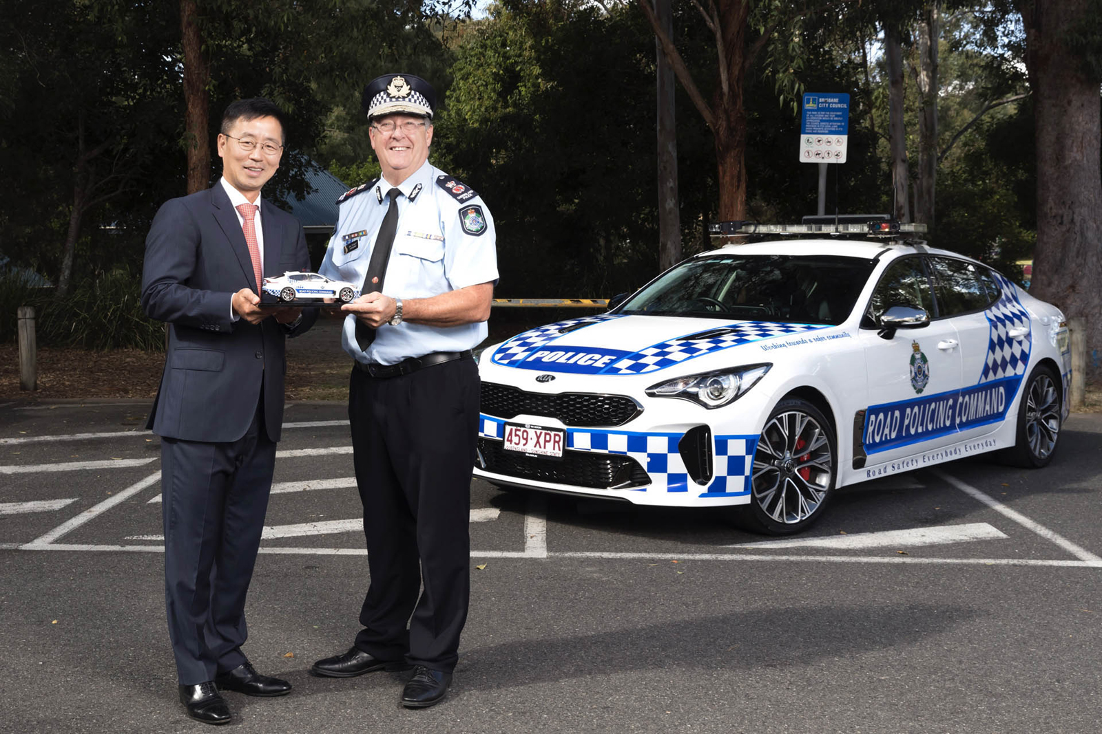 Kia Stinger Police Car Goes Into Service In Australia