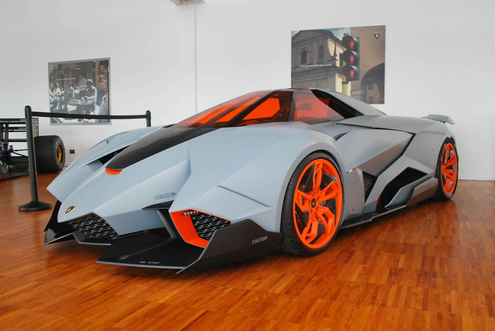 Most Expensive Vehicles >> We get up close to the rare Lamborghini Egoista