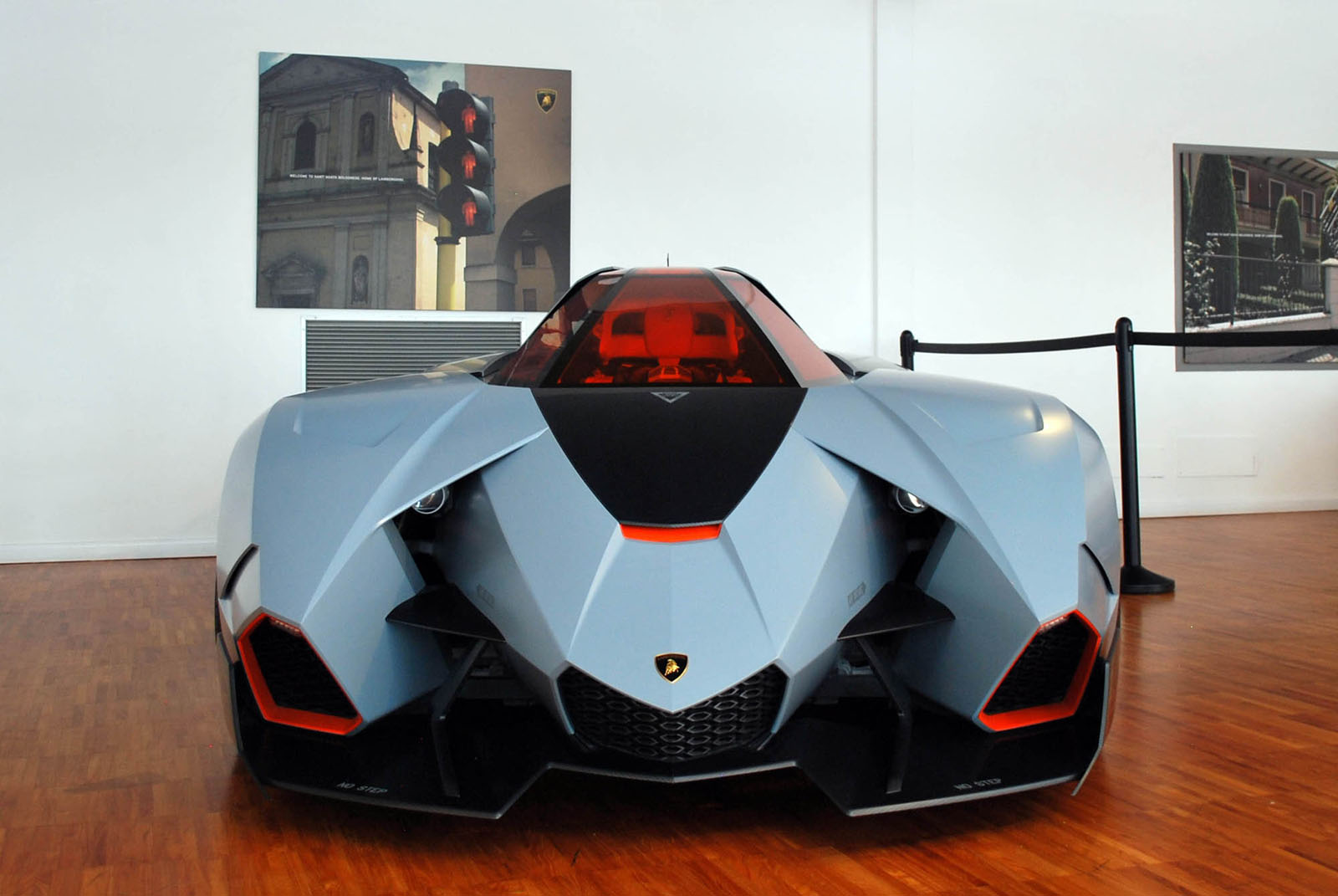 We Get Up Close To The Rare Lamborghini Egoista