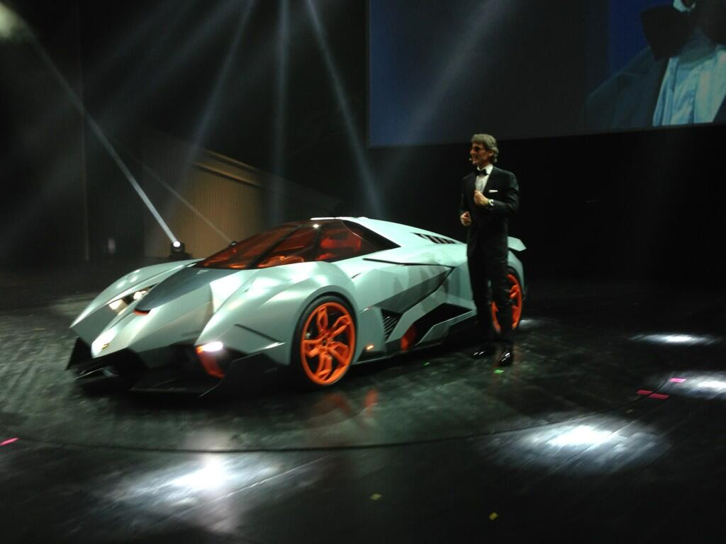 There S New Hope That Lamborghini Will Build The Egoista Autoguide