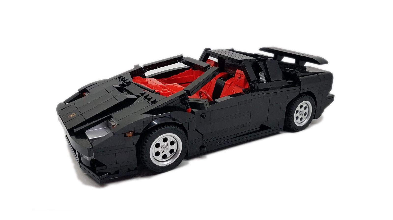 Help Make This Lego Lamborghini Diablo A Reality