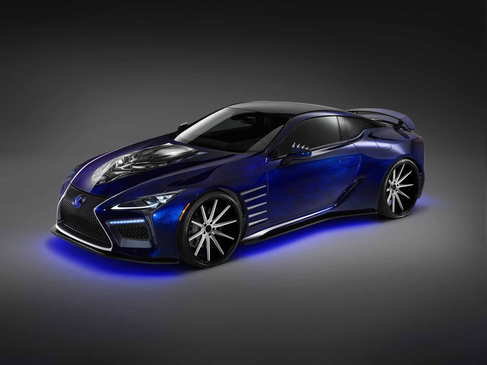 Toyota Supra Top View >> Lexus is Bringing a Black Panther Inspired LC 500 to SEMA » AutoGuide.com News