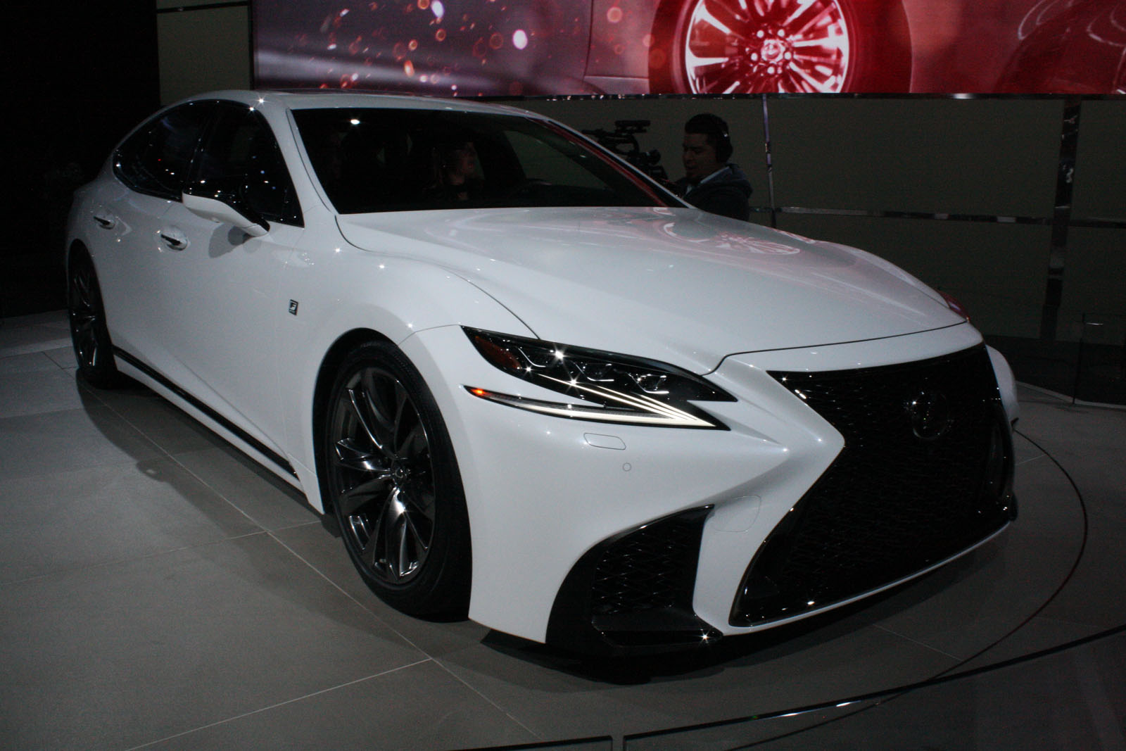 Lexus ls f sport brings performance upgrades sporty look