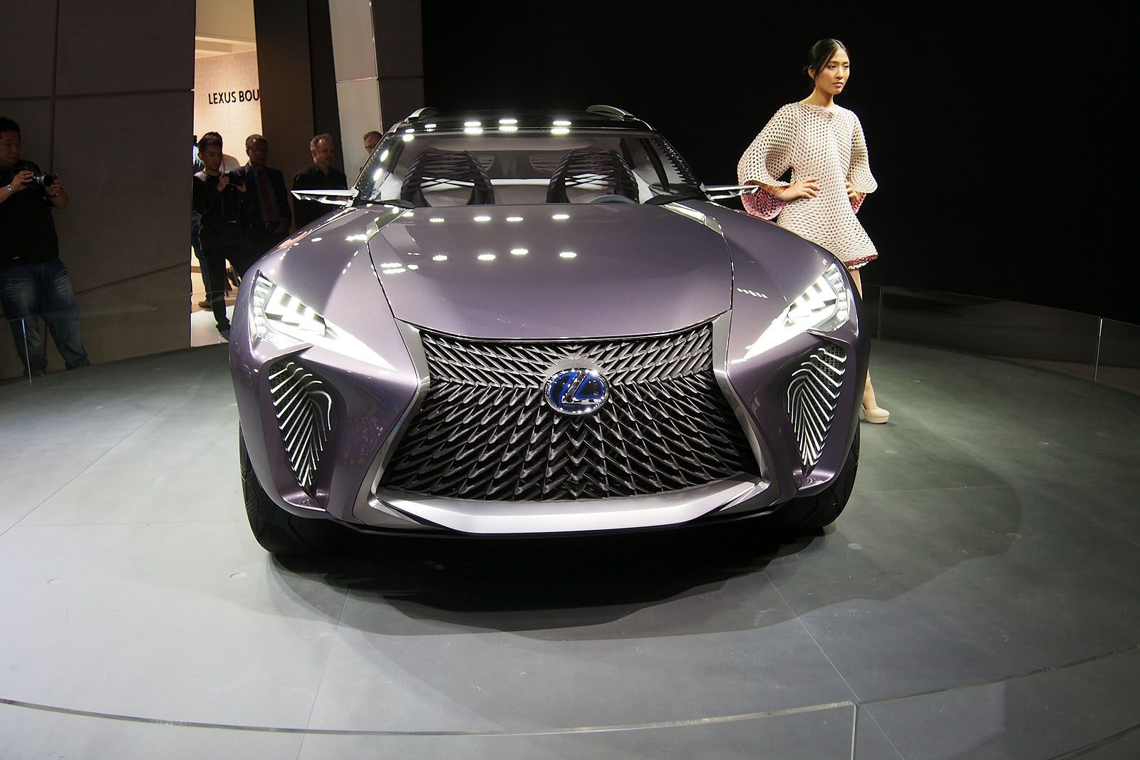 Lexus Nx Interior >> Lexus UX Concept to Spawn Production Model » AutoGuide.com ...