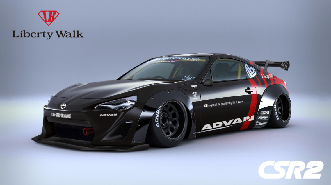 Toyota 86 Livery >> Toyota 86 Gets the Widebody Treatment from Liberty Walk » AutoGuide.com News