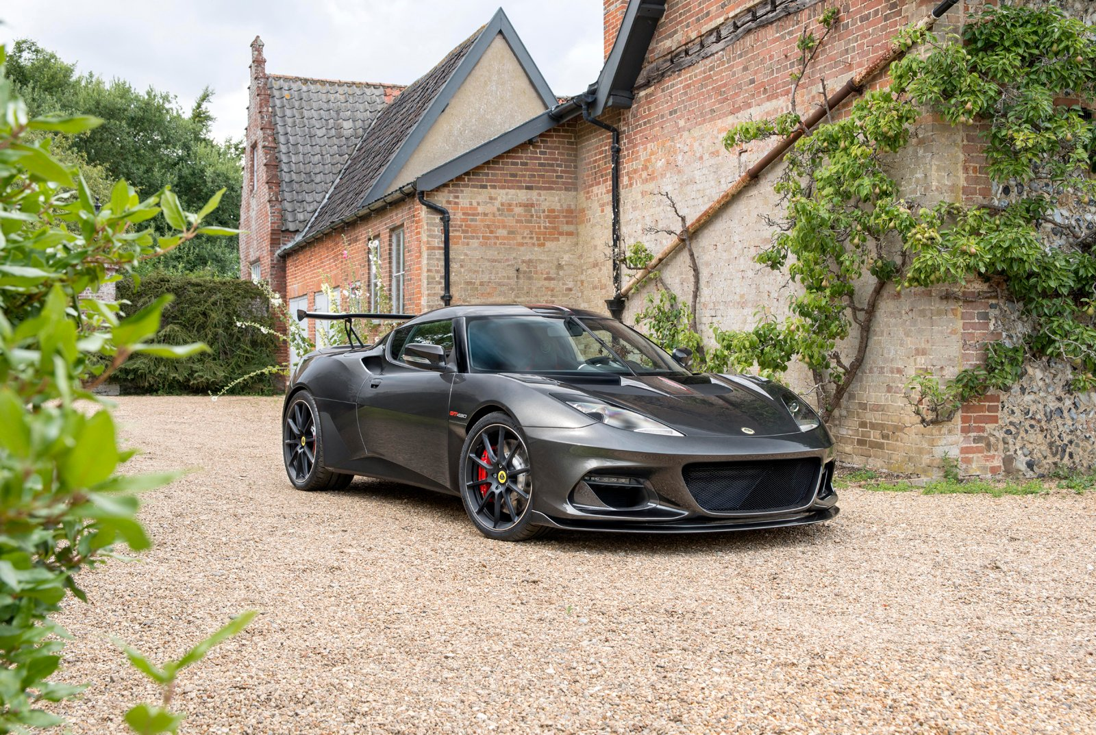 Lotus Evora GT430 is the flagship version