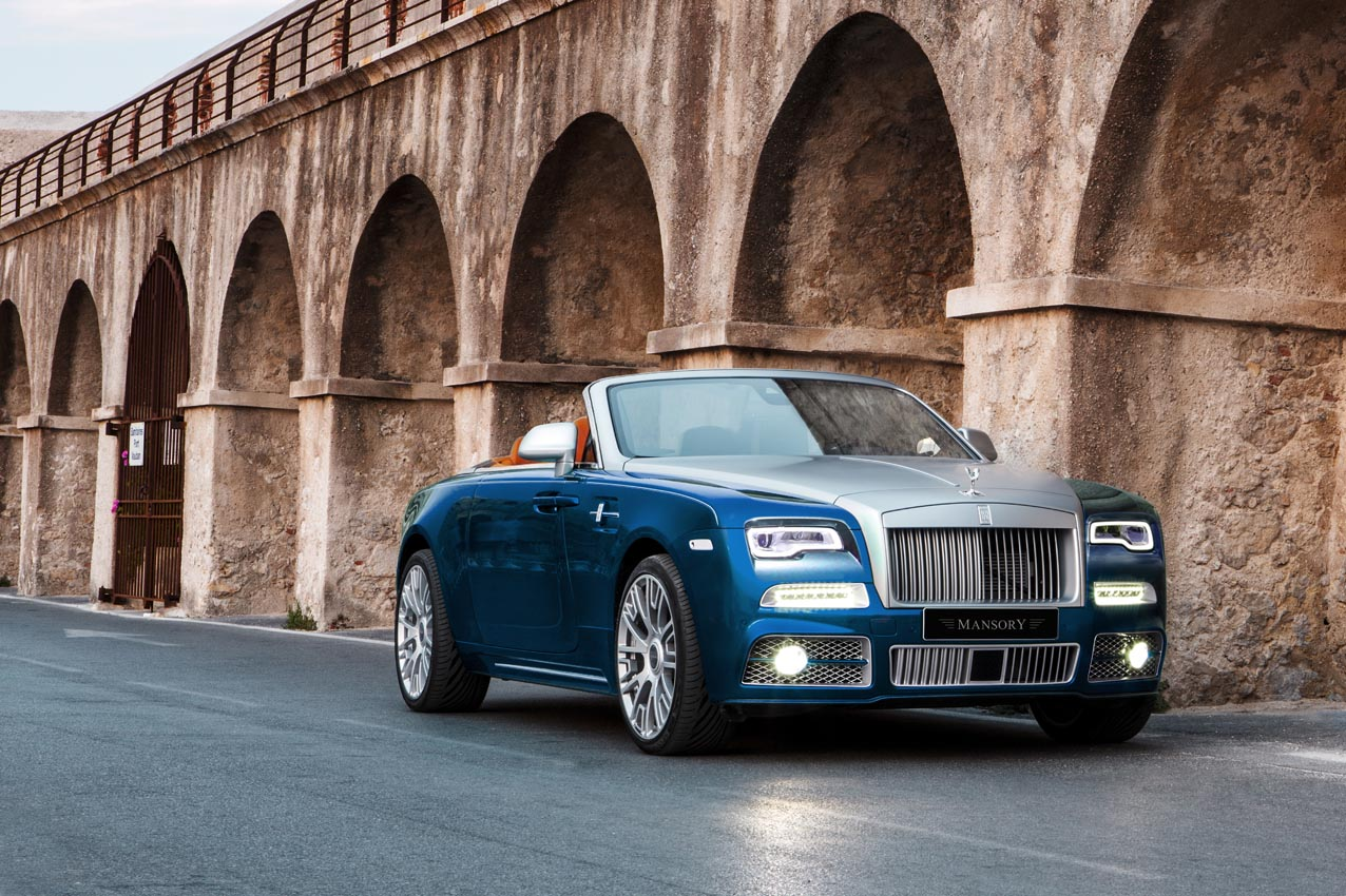 Mansory Gives Rolls Royce Dawn 740 Hp And A Suprisingly Tasteful Body Kit Autoguide Com News