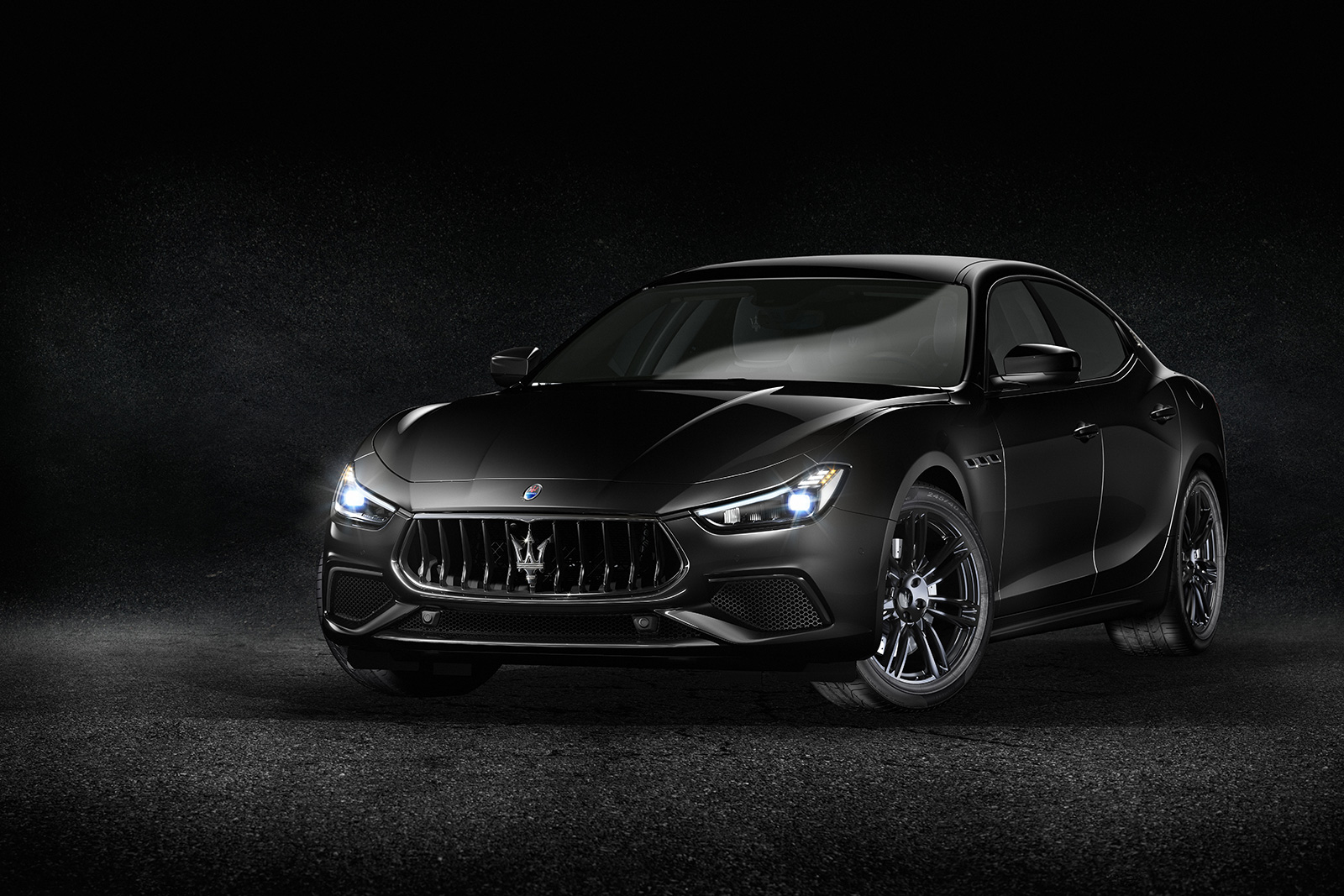 Maserati Shows Off Its Blacked Out Nerisimo Models Again