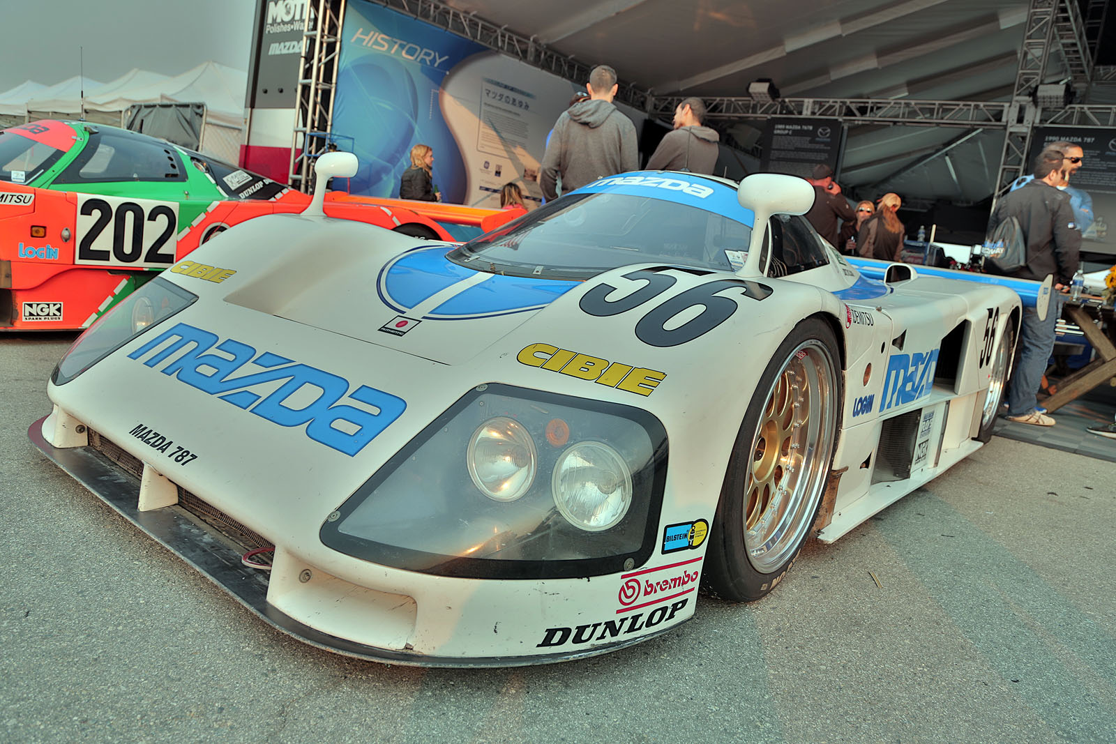 Gallery: Mazda Lets Historic Race Cars Shine at Monterey ...