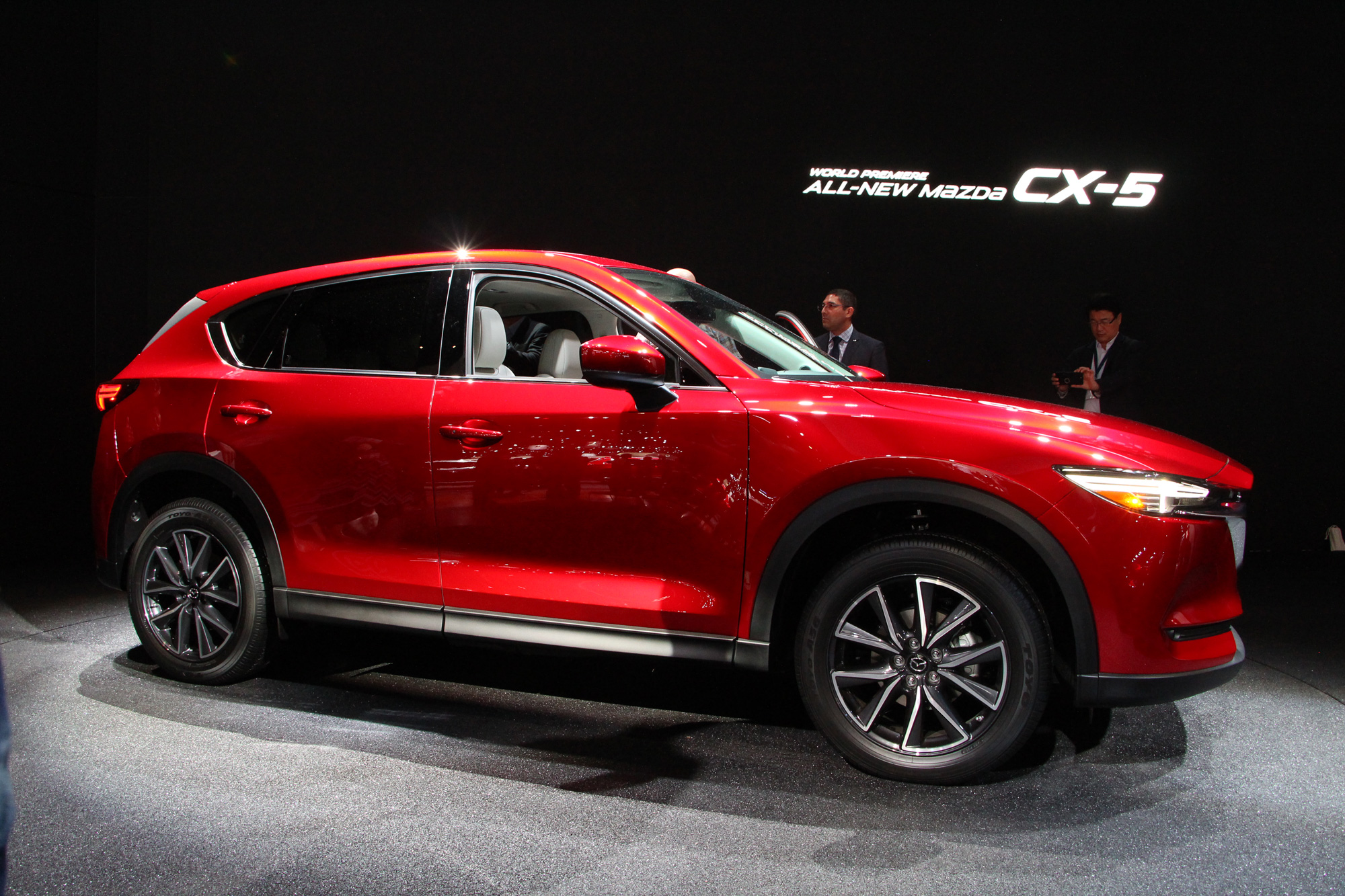 2017 mazda cx 5 revealed with diesel powerplant on the way. Black Bedroom Furniture Sets. Home Design Ideas