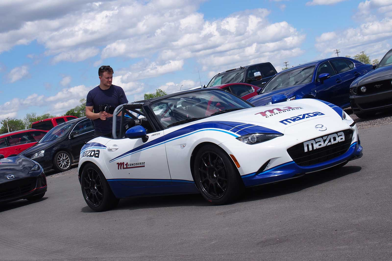 Perfect Mazda MX 5 Cup Car Front 02 ...
