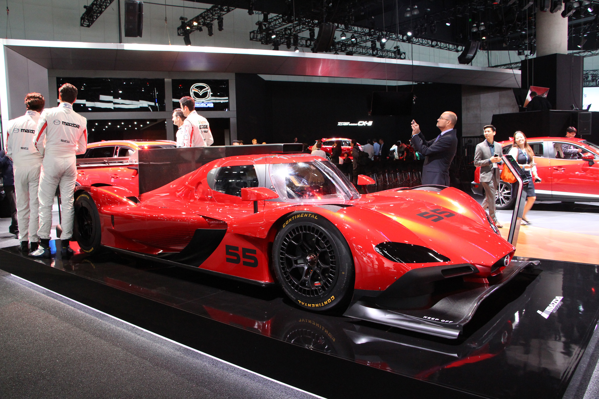 Mazdas New Racecar Prototype Could Be The Prettiest One Ever - Mazda la