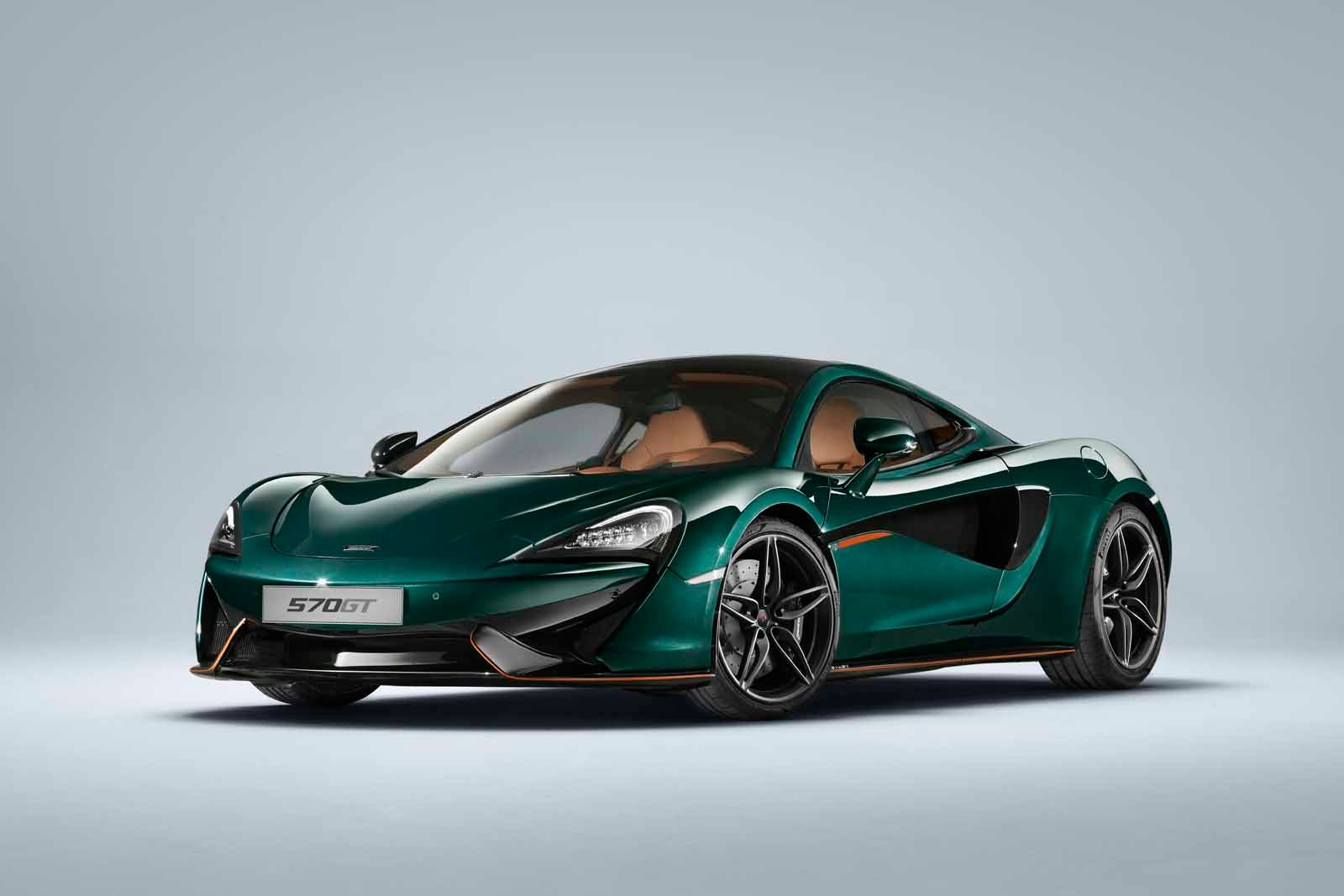 All McLaren 570GTs Should Come In This Shade of Green