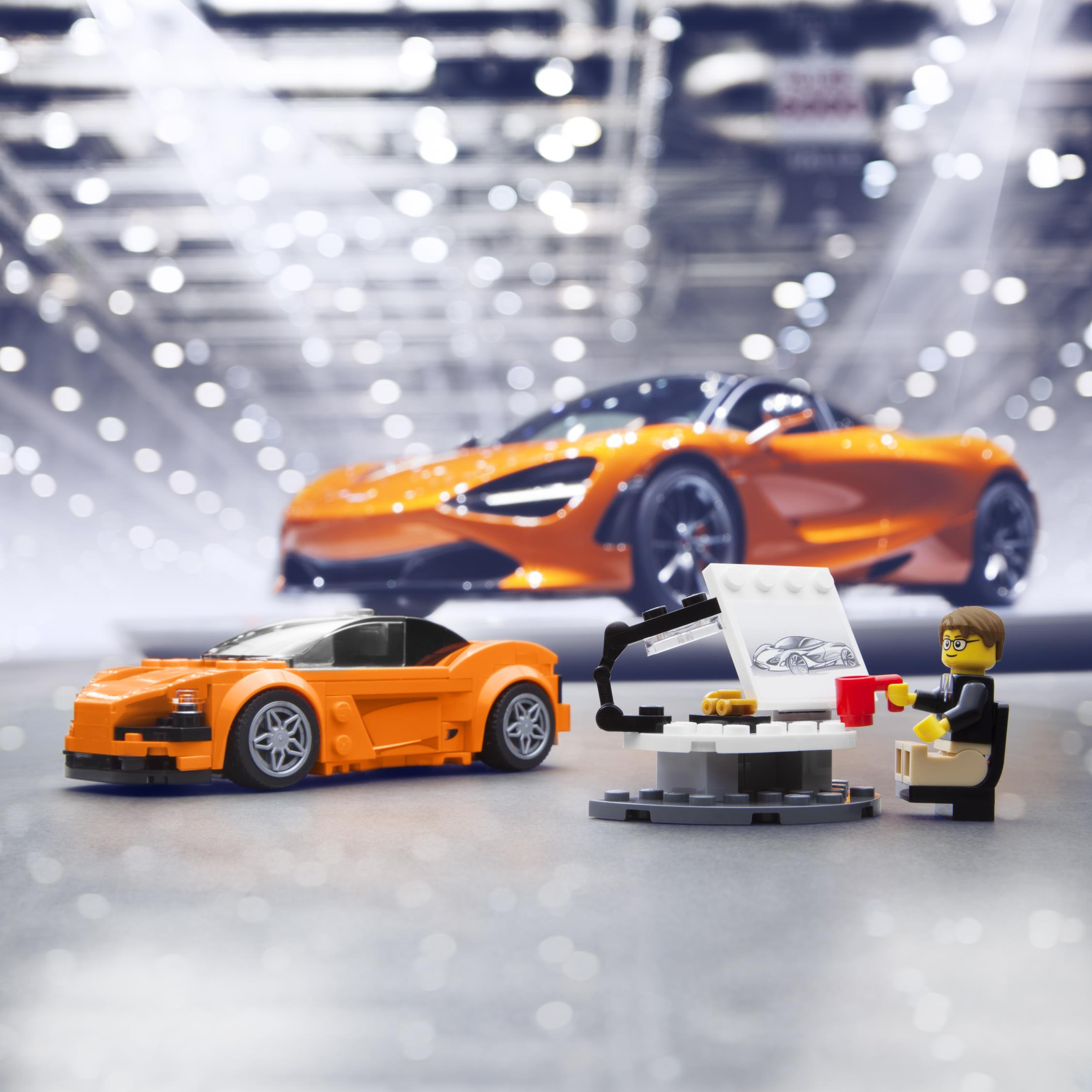 Mclaren Lego Kit Perfect For Aspiring Car Designers