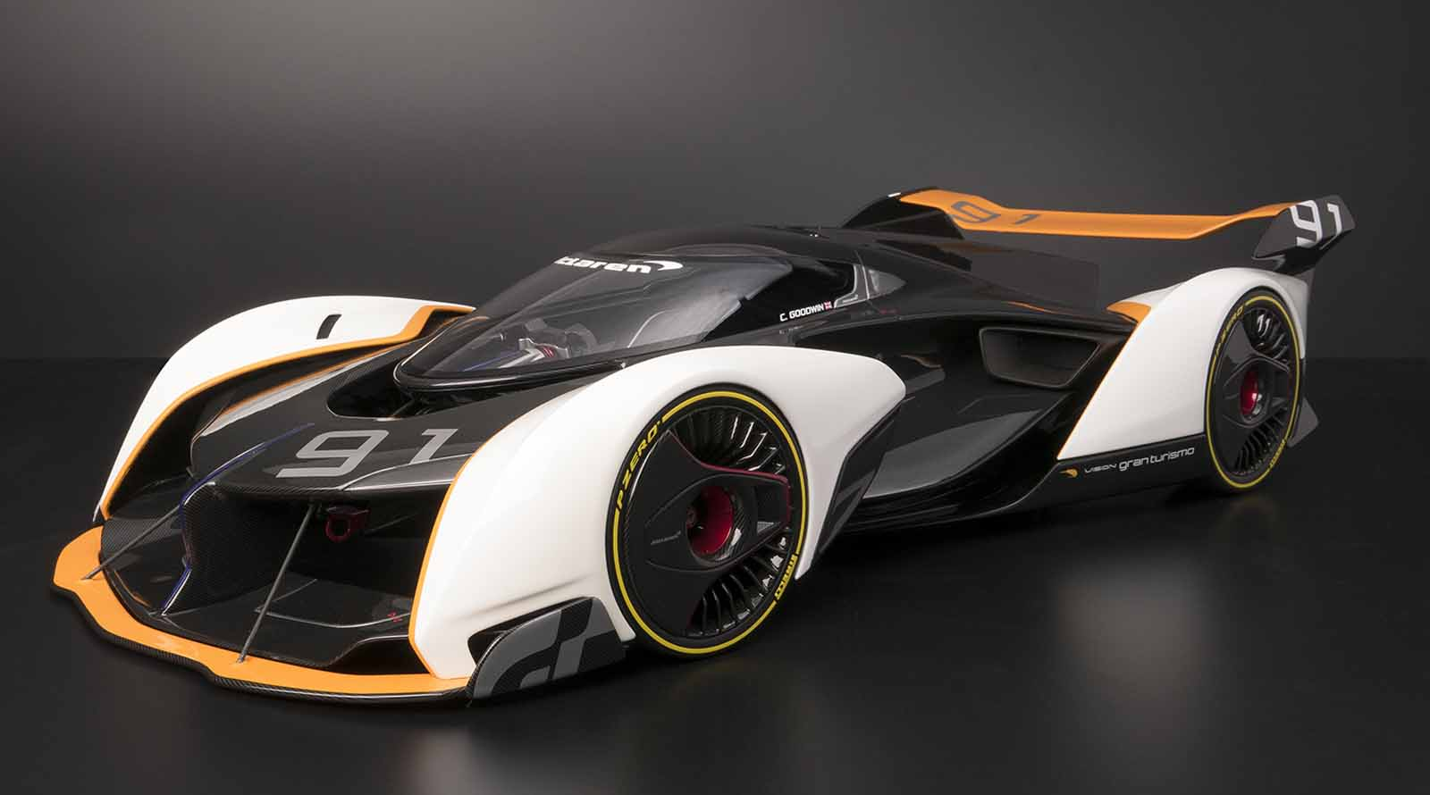 Where Can I Get A Loan >> You Can Now Buy the McLaren Vision GT Car in Scale Model ...