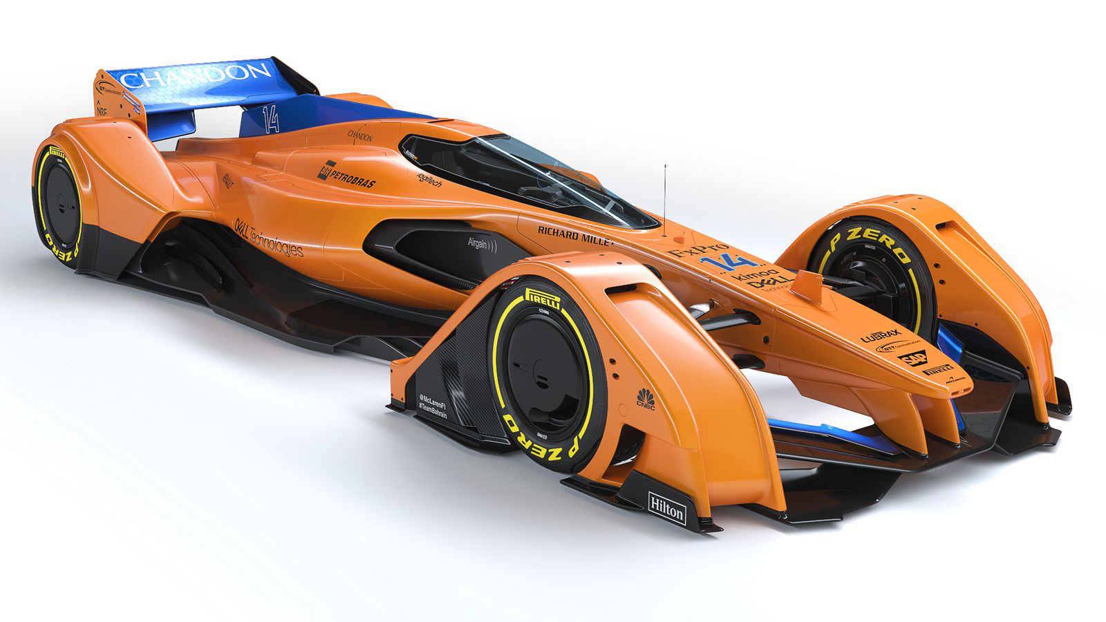 mclaren x2 concept is a formula 1 racer from the far future news. Black Bedroom Furniture Sets. Home Design Ideas