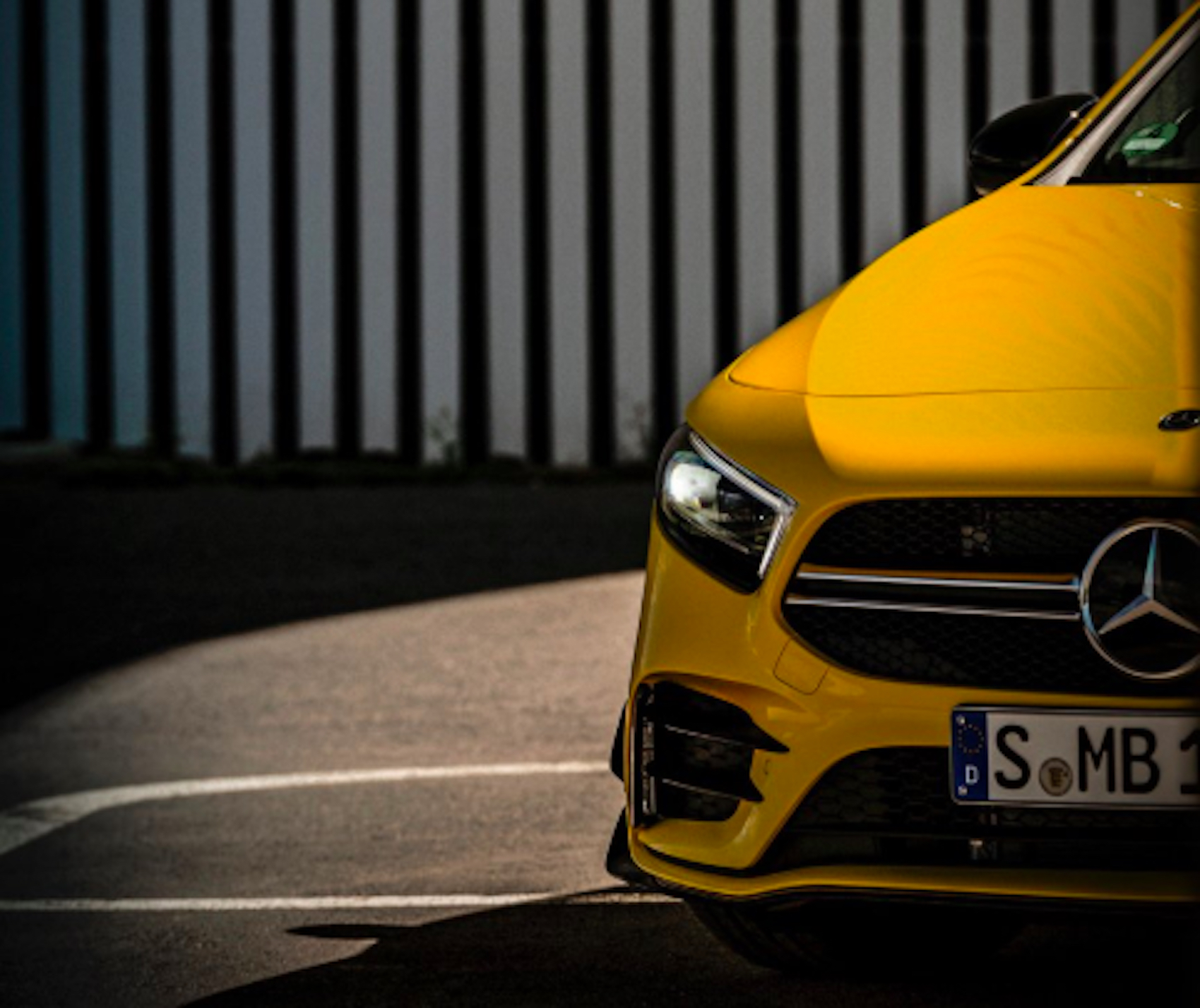 Take An Early Peek At The New Mercedes A35 AMG » AutoGuide