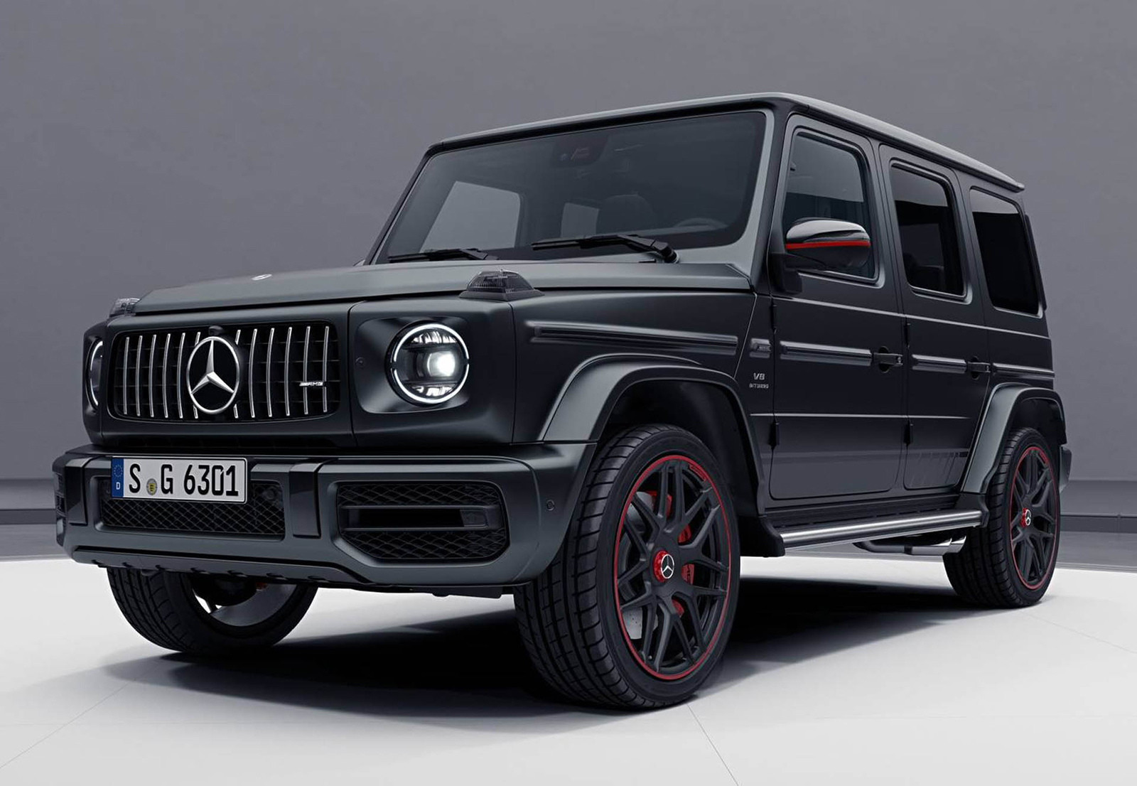 2018 mercedes amg g63 edition 1 is the most menacing g. Black Bedroom Furniture Sets. Home Design Ideas