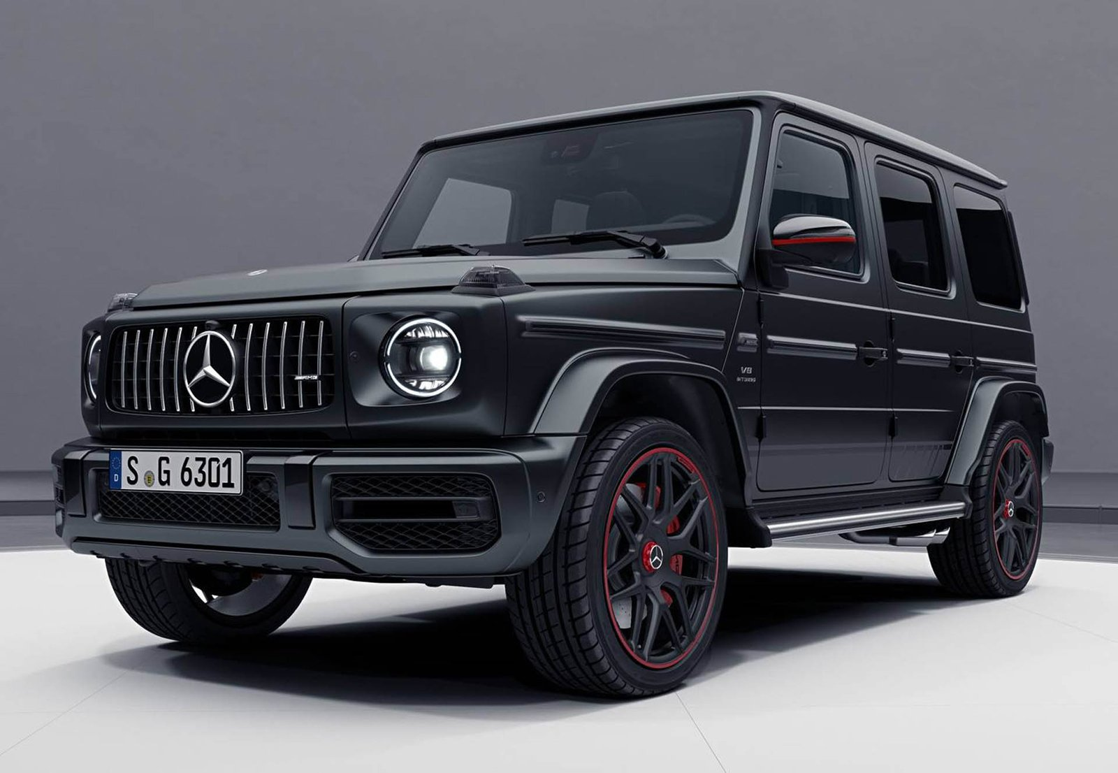 2018 mercedes amg g63 edition 1 is the most menacing g class yet news. Black Bedroom Furniture Sets. Home Design Ideas