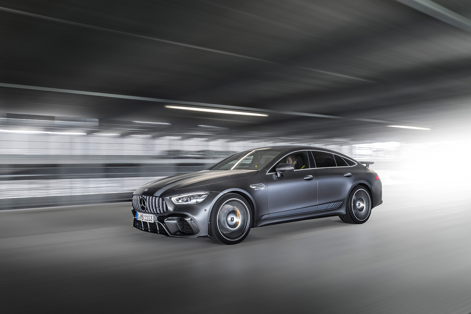 2019 Mercedes Amg Gt 4 Door Celebrates Launch With Edition 1 Model