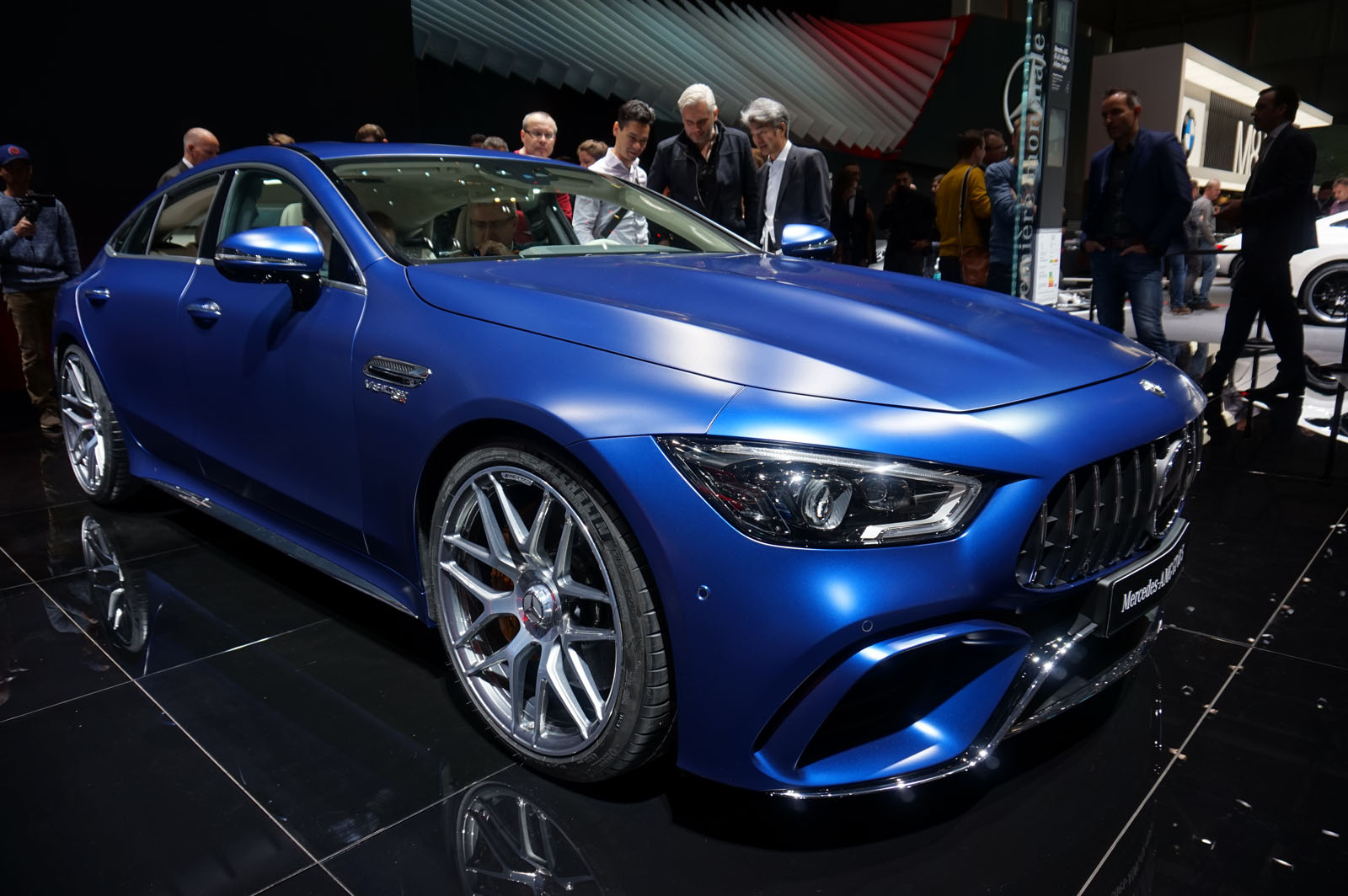 Mercedes-AMG GT 4-Door Coupe Proves Practical can Be y and Fast