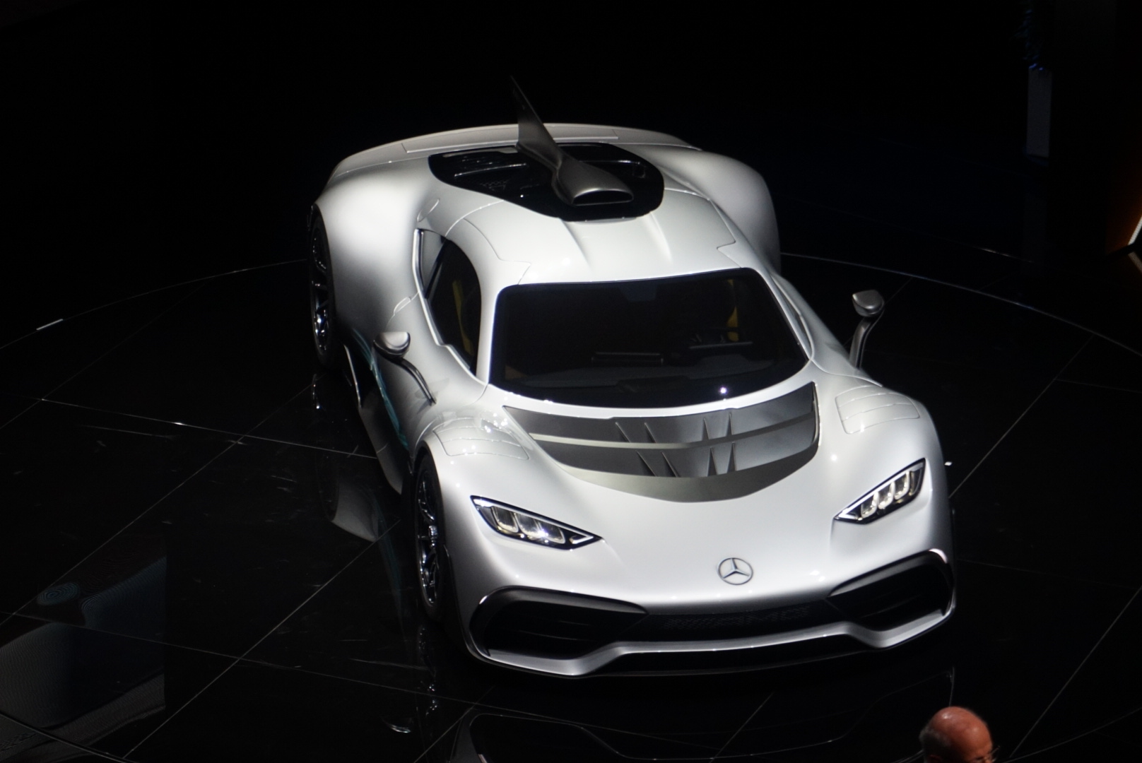 Mercedes-AMG reveals 1000bhp, 217mph 'Project One' road-legal F1 vehicle