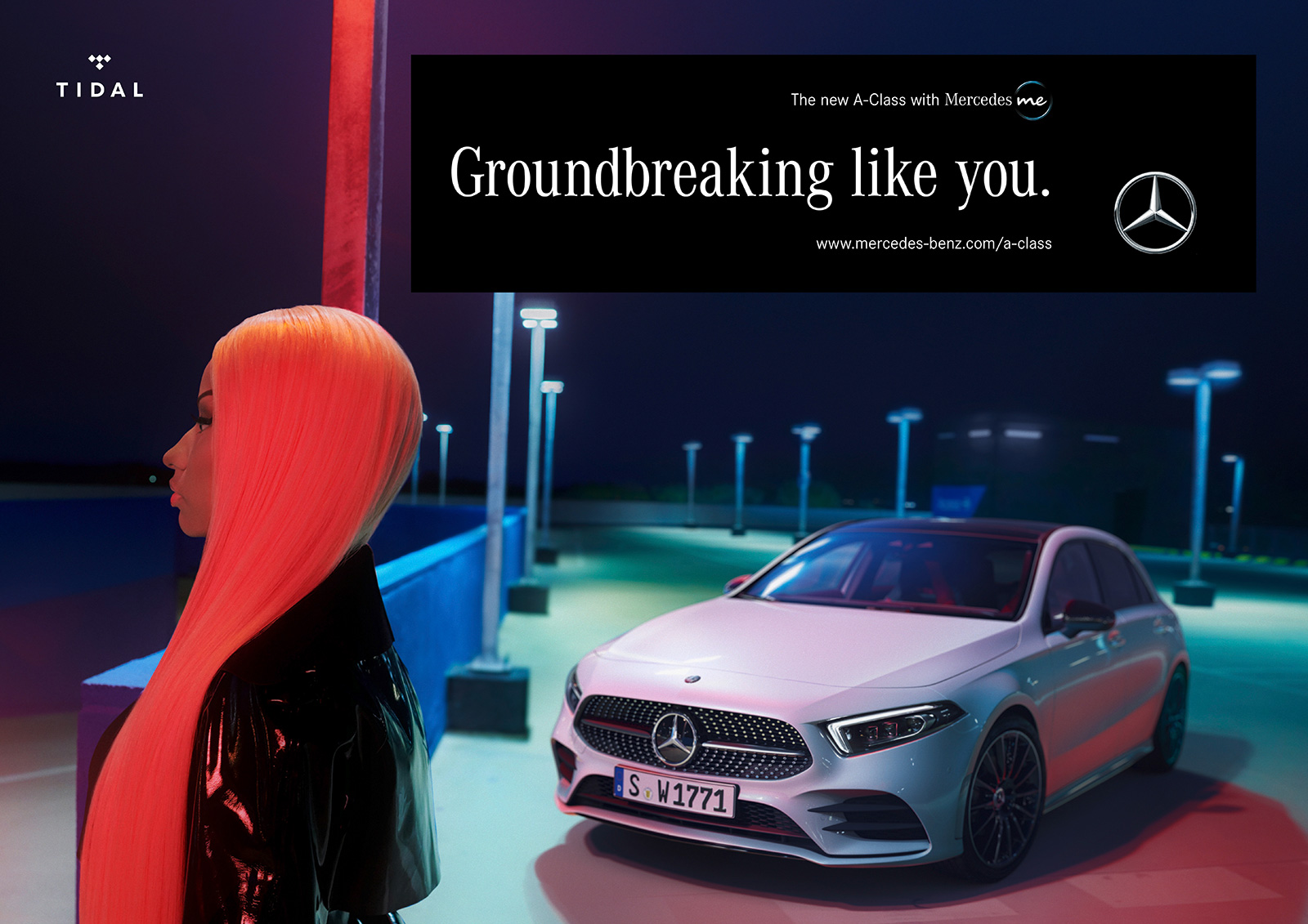 Nicki Minaj Stars In New Mercedes A Class Campaign