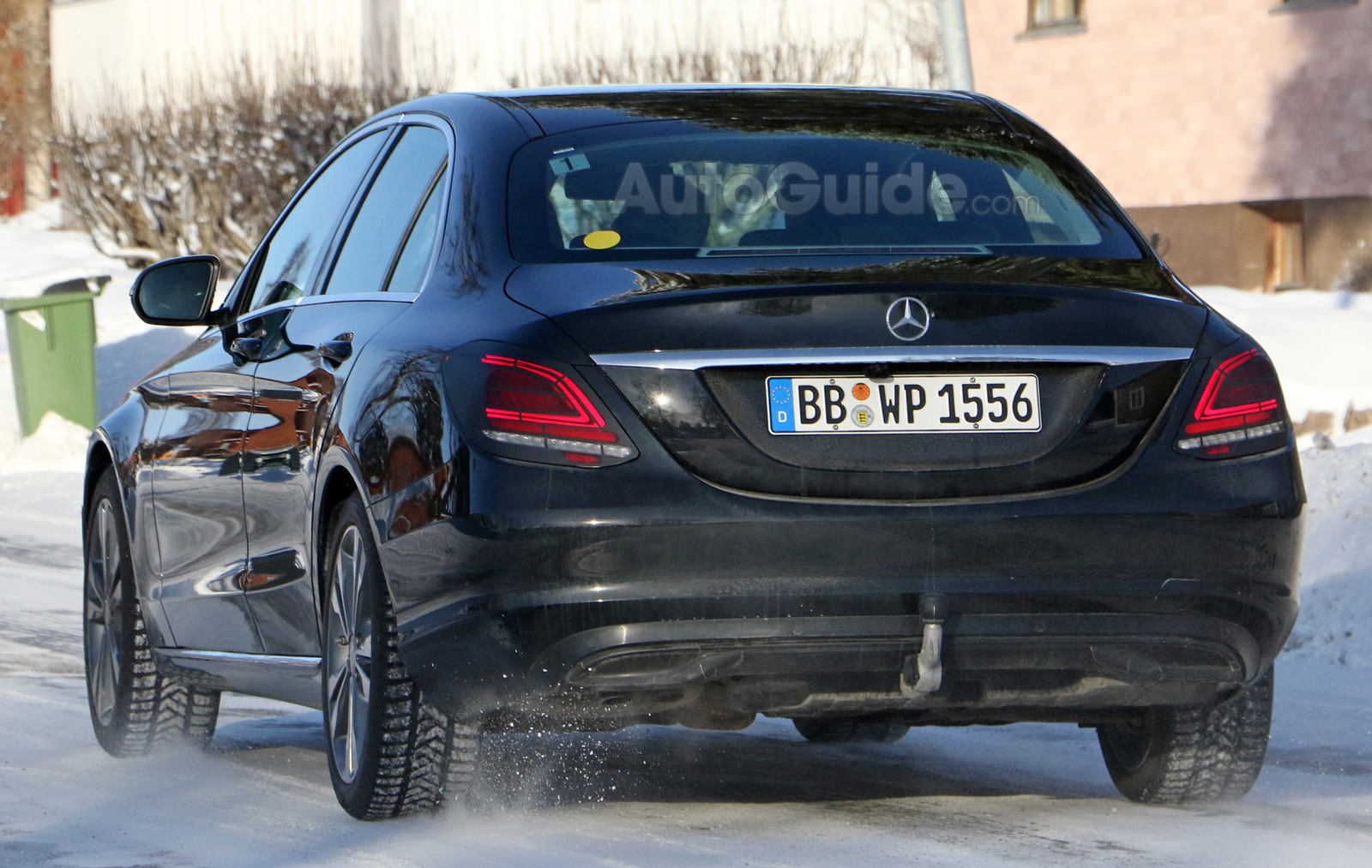 Facelifted 2019 Mercedes Benz C Class Spied Looking Like A