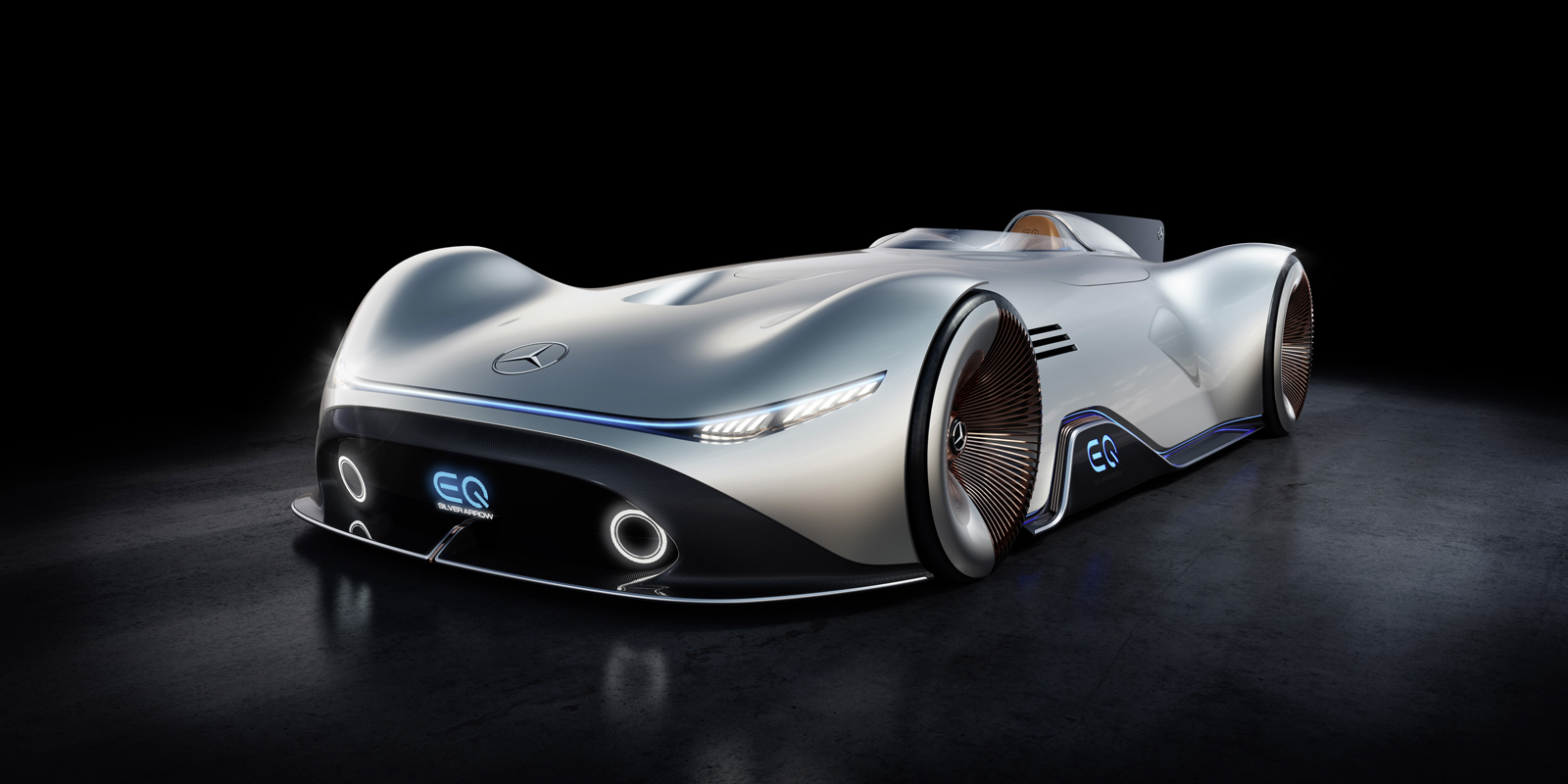 Mercedes Benz Eq Silver Arrow Has 738 Hp And Is 17 Feet Long