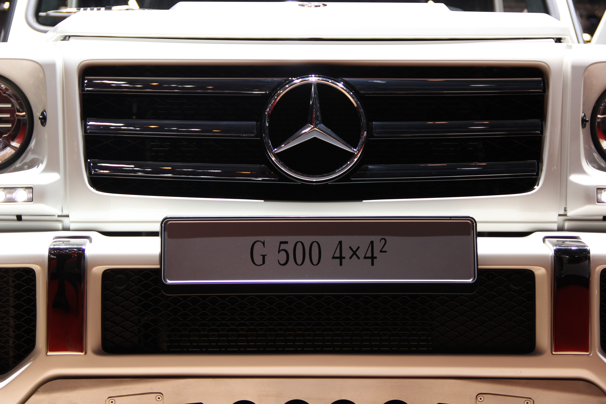 Bonkers Mercedes G500 4x4 Squared Off-Roader Could Head to the US