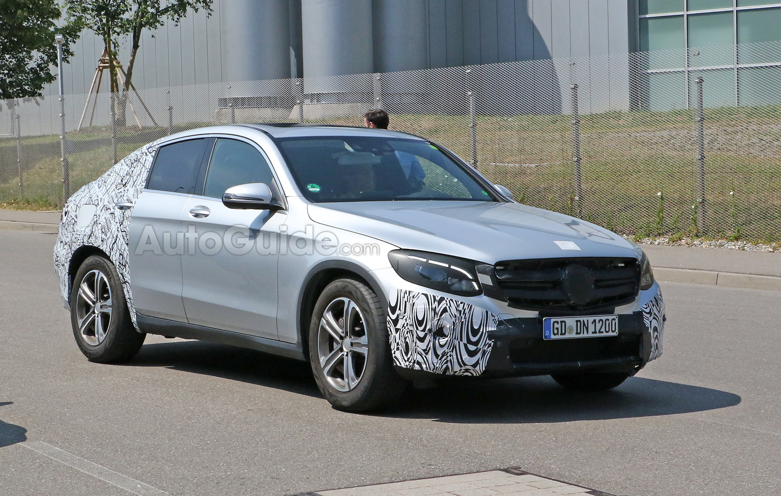Mercedes Glc Coupe Headed To Production