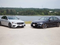 Mercedes-Benz E43 vs BMW M550i-01