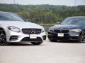 Mercedes-Benz E43 vs BMW M550i-02