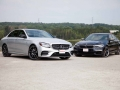 Mercedes-Benz E43 vs BMW M550i-03