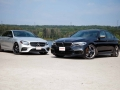 Mercedes-Benz E43 vs BMW M550i-04