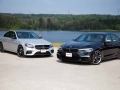 Mercedes-Benz E43 vs BMW M550i-05