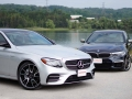 Mercedes-Benz E43 vs BMW M550i-13